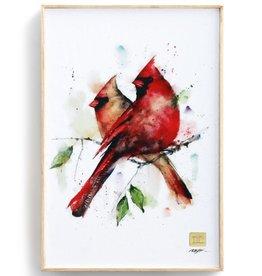 Dean Crouser Dean Crouser Wall Art - Cardinal Pair 8x12