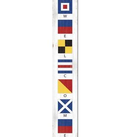 Porch Board - Nautical Flags