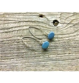 Drop Earrings - Leland Blue Oval 2