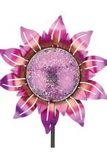 Mosaic Flower Stake - Purple