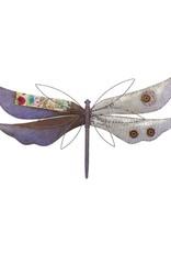 Rustic Wall Decor - Dragonfly Purple