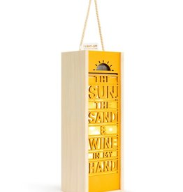 Wine Lantern - Sun & Sand