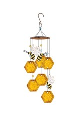 Chime - Bee & Honeycomb