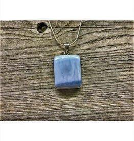 Necklace Pendant - Blue Opal