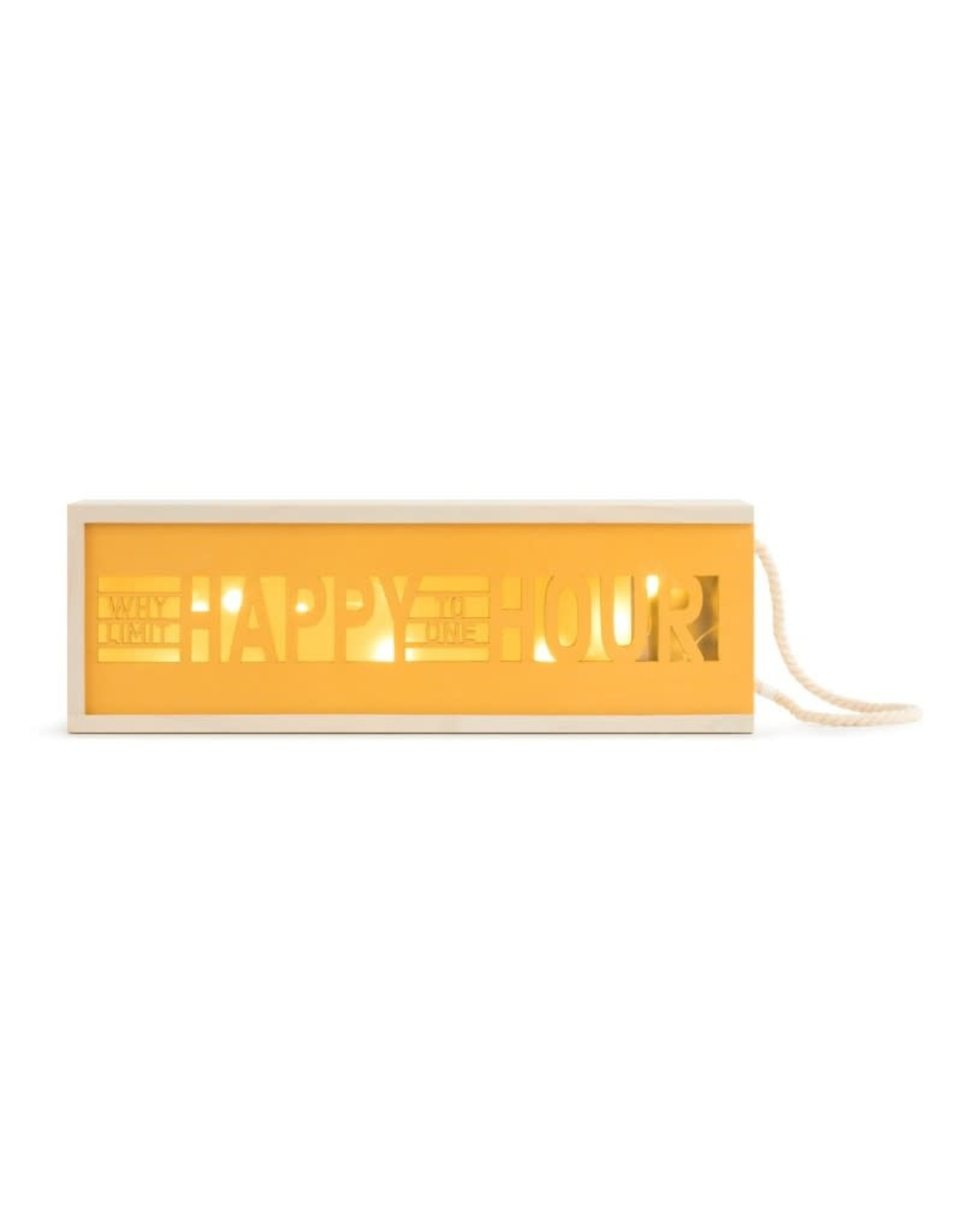 Wine Lantern - Why Limit Happy