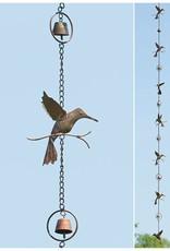 Rain Chain - Hummingbird & Bells