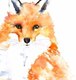 Michelle Detering Art Michelle Detering Limited Matted Print - Winter Fox