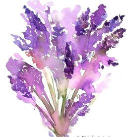 Michelle Detering Art Michelle Detering Limited Matted Print - Lavender Dreams