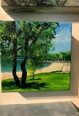 """Suttons Bay Park"" 6x6 Original Acrylic"