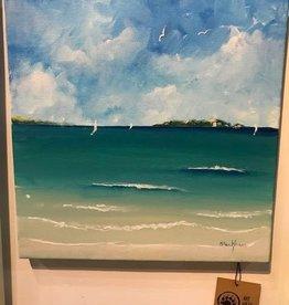 """Bay Beauty"" 12x12 Original Acrylic"