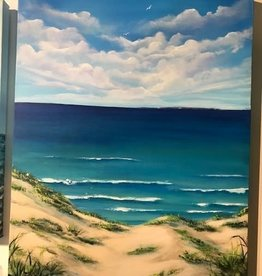"""""""A Dune View of Manitou"""" 24x30 Original Acrylic on Canvas"""