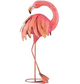 Pink Flamingo - Preening 25''
