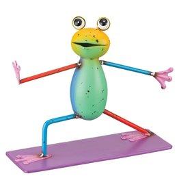 Colorful Frog - Warrior II