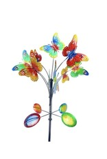 Wind Spinner Stake - Vertical Butterfly