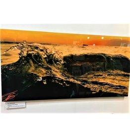 Leelanau Sunset Wave - 15 x 30 Aluminum Print