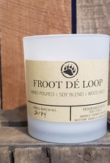 Bear Naturals Handpoured Soy-blend Candle - Froot de Loop