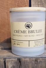 Bear Naturals Handpoured Soy-blend Candle  - Creme Brulee