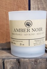 Bear Naturals Handpoured Soy-blend Candle - Amber Noir