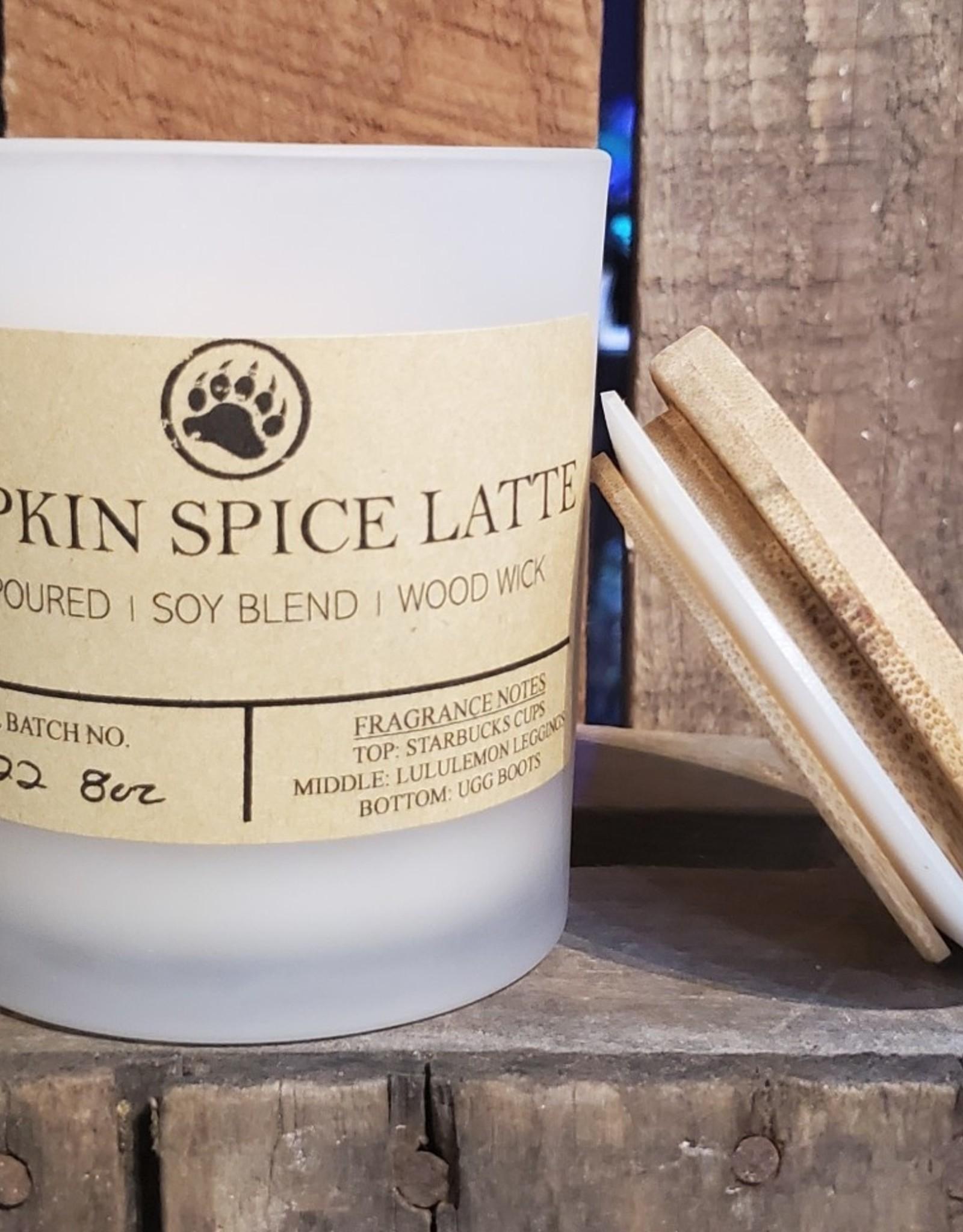 Bear Naturals Handpoured Soy-blend Candle - Pumpkin Spice Latte