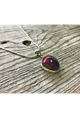 Necklace Pendant - Red Fordite