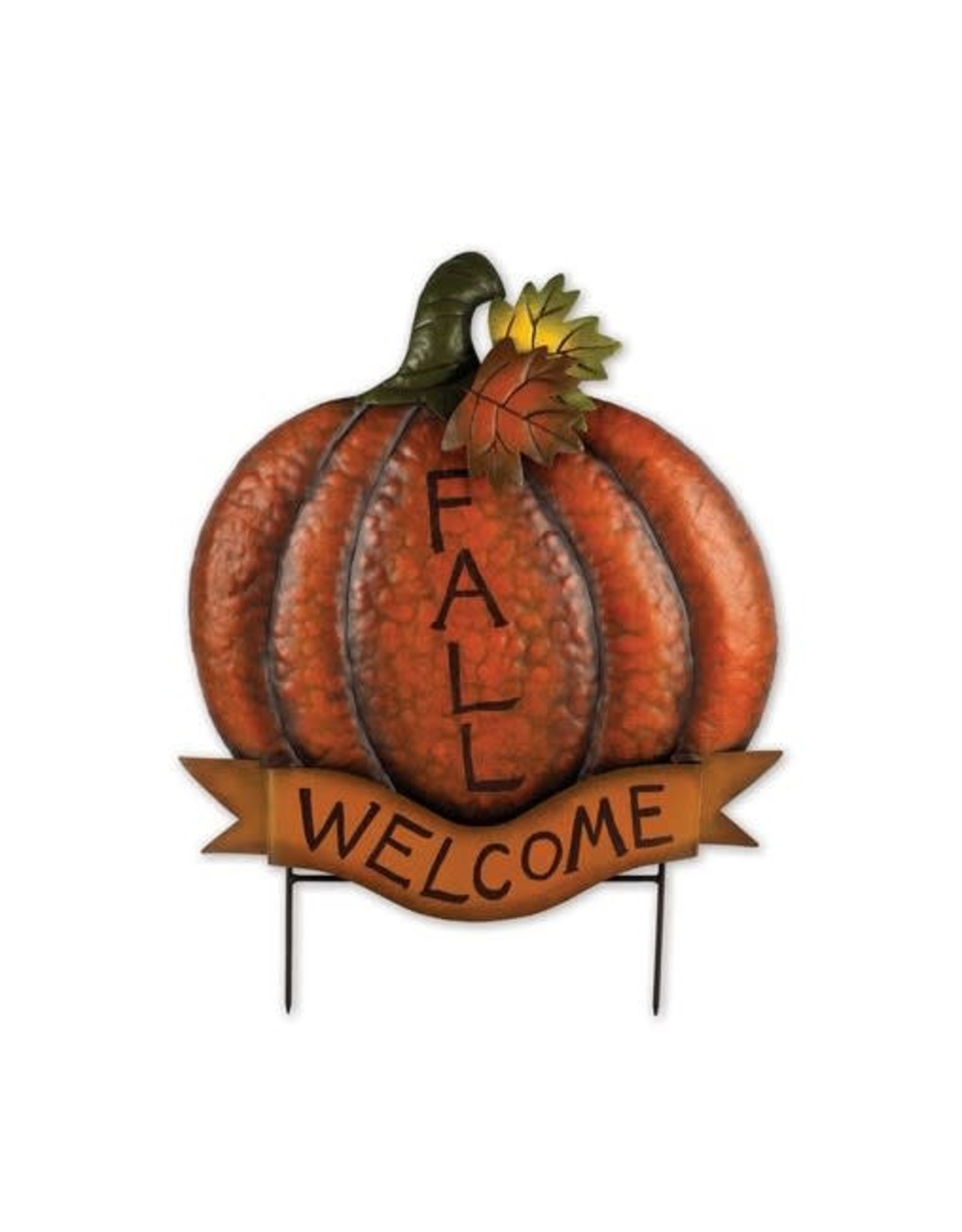 Harvest Stake - Pumpkin Welcome