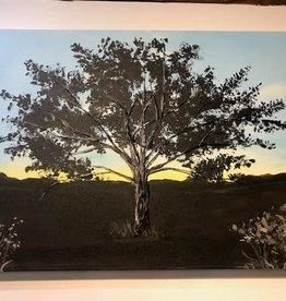 "Nanglow Fine Art ""Sunset"" 24x36'' Nancy Farley Original"