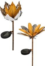 Solar Metal Flower