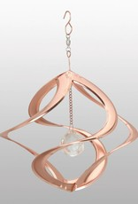 Hanging Helix - 11 Inch Copper with Crystal