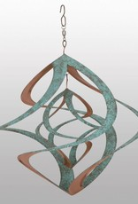 Bear Den Helix Hanging Helix - 14 Inch Double Copper Patina