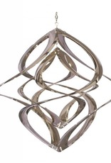 Wind Spinner - 14 Inch Double Chrome