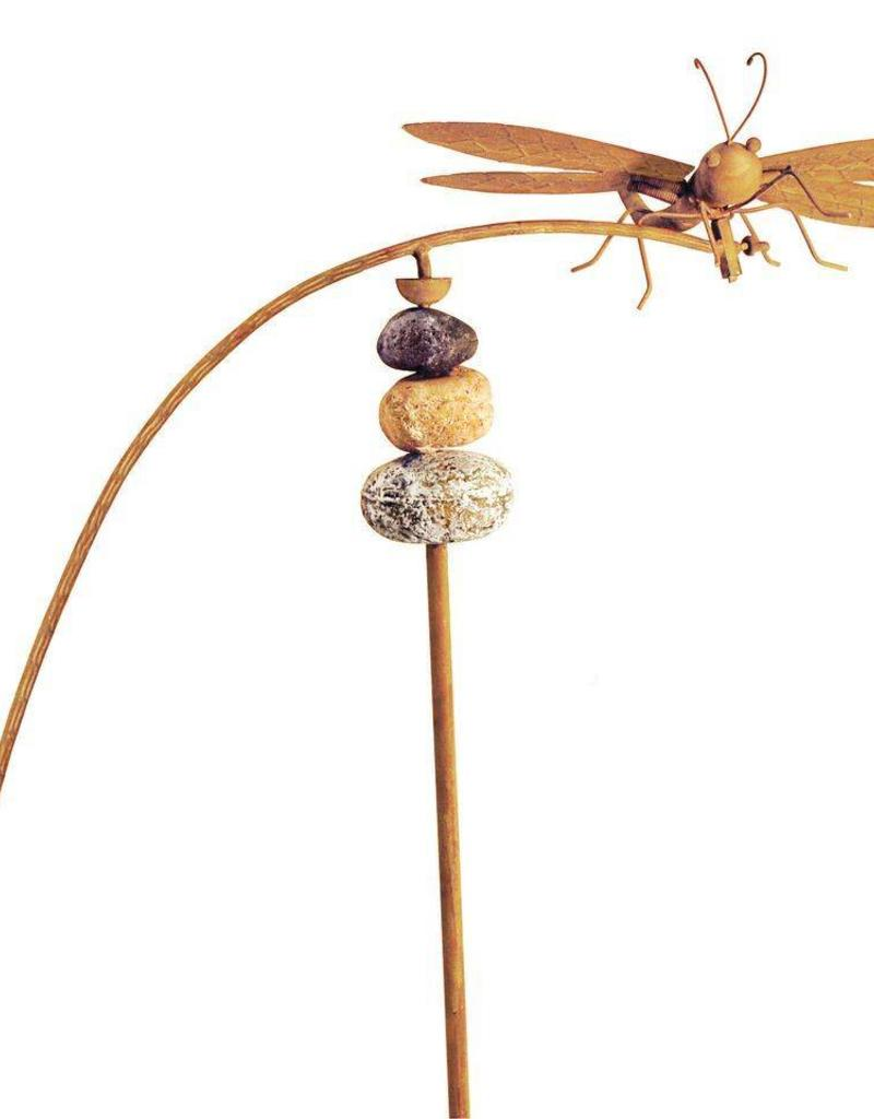 Dragonfly Balancer with Stones