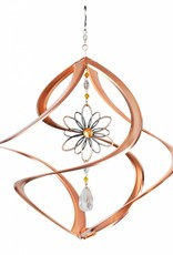Bear Den Helix Hanging Helix - 14 Inch Copper with Wire Flower