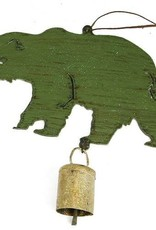 Metal Bear Decoration