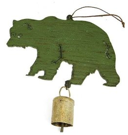 Metal Bear Decoration