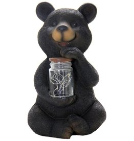 Solar Bear with Jar of Fire Flies