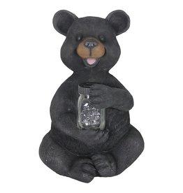 Bear with Firefly Jar