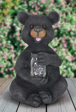 19 Inch Bear with Firefly Jar