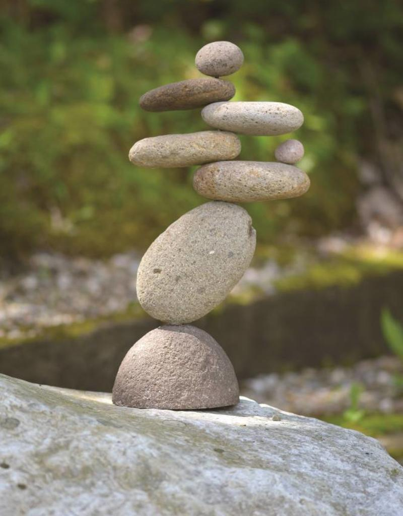 Stone Art - 8 Stone Cairn