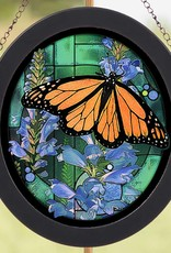 Monarch Butterfly Glass Art