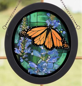 Monarch Butterfly Glass Art