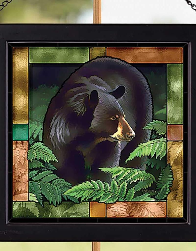 Black Bear Glass Art - SM