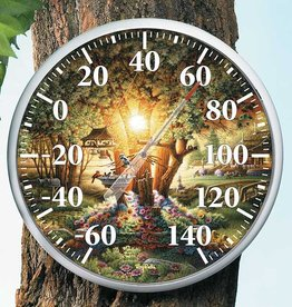 The Colors of Spring Birds Thermometer