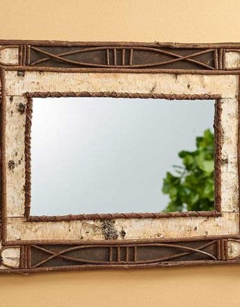 Birch and Pinecone Mirror