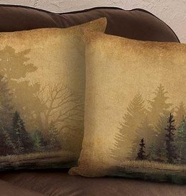 Rustic Forest Decorative Pillow