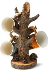 Sculpted Tree Branch Coffee Mug Holder