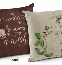 See a Wish Decorative Pillow
