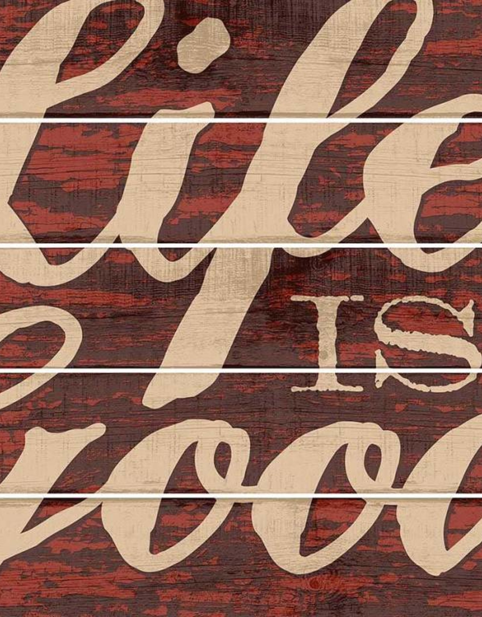 """Life is Good 18"""" x 24"""" Pallet Sign"""