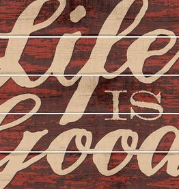 Life is Good Pallet Sign