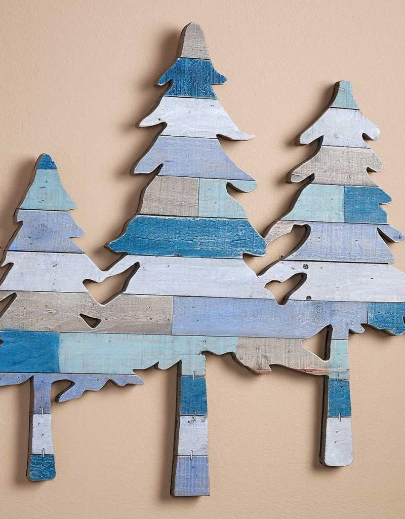 Pine Tree Slat Wood Wall Decor