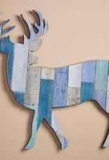 Wood Slat Wall Decor - Deer